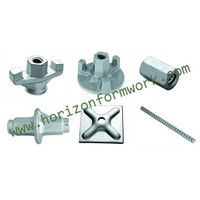 Formwork accessories, Dywidag wing nut, tie-rod, plate, water stop