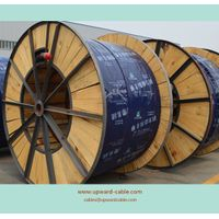 Cross-linked XLPE-insulated, steel tape-armored, PVC-sheathed power cable