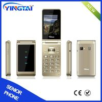 2.8inch dual sim folding mobile phone