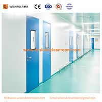 1200mm2100mm Steel Cleanroom Door For Food Factory With ISO9001