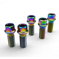 Titanium Alloy Wheel Bolts 6al4V Grade 5