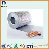 PVC pharmaceutical packaging film