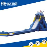CE/UL certificated PVC giant slip and slide, titanic inflatable slide