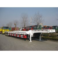 Three axles Low bed semi trailer thumbnail image