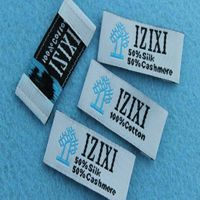 2016 custom high quality and cheap woven labels&tag for clothing