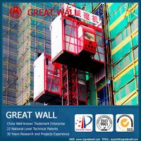 China Well-known Trademark SC200/200 Construction Elevator
