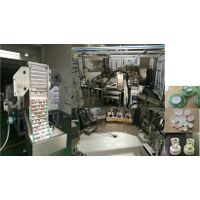 Desiccant Cap closure Childproof CRC Assembly Machine