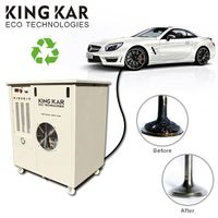 Car care used motor oil cleaning machine