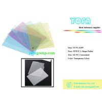 Document Holder, Pp/pvc File, Transparent File, L Shape Folder