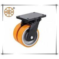 heavy duty twin wheel caster and wheel