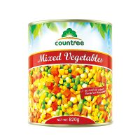 Canned Mixed Vegetables, Canned Food