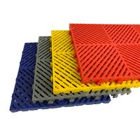 plastic interlocking repair workshop floor tiles/ pp industrial interlocking garage floor tiles thumbnail image