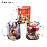 Sunmeta 11oz Sublimation Glass Mugs Blanks At Low Wholesale Price