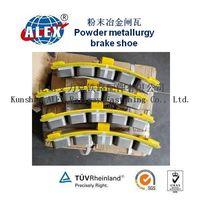 Powder Metallurgy Railway Brake Shoe Factory supplied thumbnail image