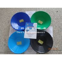 Factory price gold plastic washing pan for gold mining,Black,Sky Blue,Sapphire Blue,Green,Red thumbnail image