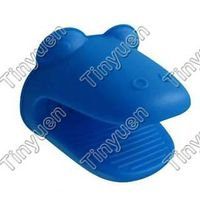 silicone glove with shape