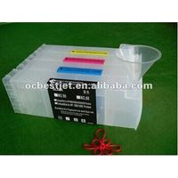 Best!! Refillable ink cartridge for HP Designjet Z6100