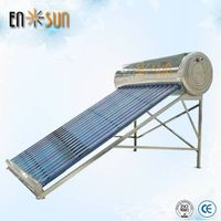 Integrate low pressure solar water heater stainless steel for bathing thumbnail image