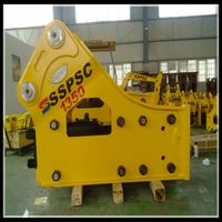 SB81 side type hydraulic rock breaker hammer