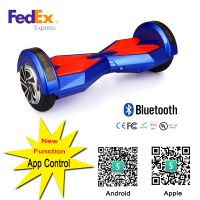 8Inch Scooter Electric Scooter Two Wheel Balance With Bluetooth speaker + Remote Hoverboard