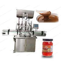 automatic peannut sauce honey shampoo paste filling machine thumbnail image
