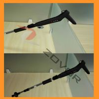 Adjustable folding walking stick with GPS SOS MP3 FM player