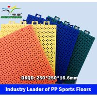 FIBA Basketball PP Sports Flooring, FIBA Basketball Sport Court Tiles, Interlock Sport Floor