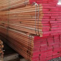 AD High-Grade Red Meranti Planks, 25-75 mm