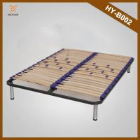 China Manufacturer Modern Bedroom Furniture Luxury Wooden and Metal Bed Frame Parts