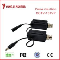 1 channel passive power video balun