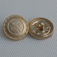 Wholesale and custom uniform sewing metal coat label