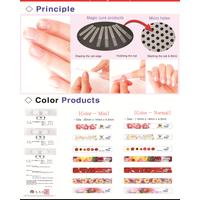glass nail polisher (nail surface shiner with file)