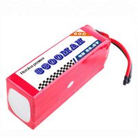 RC Hobby Model Helicopter Airplane Aircraft 22.2V 6S Lipo Battery Lithium Polymer Soft Pack 3600mAh