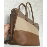 Emilia Johnson triple color tote bag