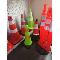 Roadsky PVC and Rubber Traffic Cones