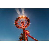 Large pendulum factory frisbee ride super swing thumbnail image