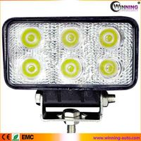 High performance offroad 24v 18w led work light