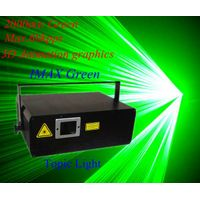 The Newest 2W IMAX Animatin Stage green laser light,club light
