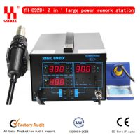 2 function in 1 function YIHUA 892D+ soldering station