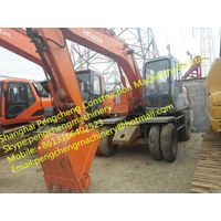 Used Wheel Excavator Hitachi EX120-3WD