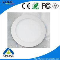 Round embedded stadio led panel light 18W