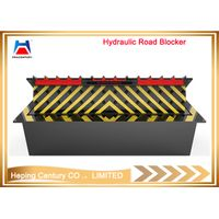 Remote control factory sale hydraulic vehicle spike barrier/steel road blocker thumbnail image