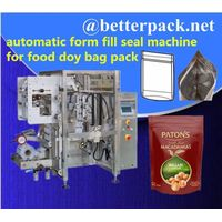 BT-520D automatic doy bag forming filling sealing machine with zipper applicator thumbnail image