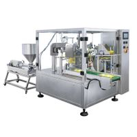 Paste or liquid premade bag filling and packing machine thumbnail image