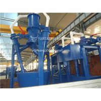Power plant flue gas desulphurization hydrocyclone