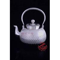 Pure Silver Craft Tea pot