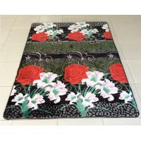 Chinese home decor velvet memory foam carpet