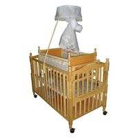 JF8090 multi-function wooden baby bed thumbnail image