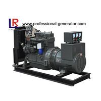 4 Cylinders Single Phase 37.5kVA Open Diesel Generator Powered by Water - Cooled Yuchai Engine thumbnail image