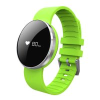 0.66inch screen smart watch with LED light Health data sync function smart bluetooth watch